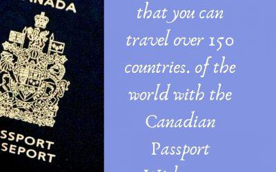 Canada international passport